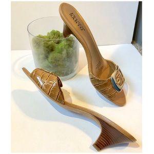 Vintage leather Franco Sarto Heels(NWOT)